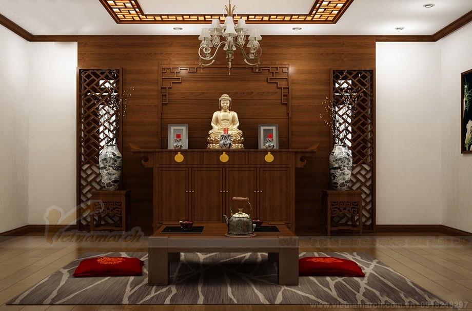 Đặc điểm của thiết kế nội thất phòng thờ hiện đại