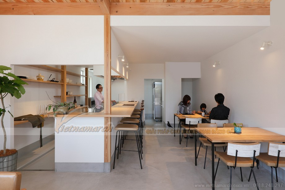 thiết kế nội thất cafe văn phòng