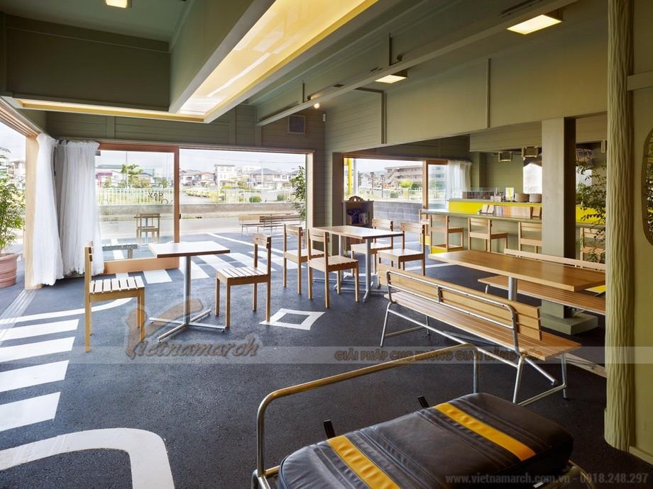 thiết kế quán cafe văn phòng đẹp a