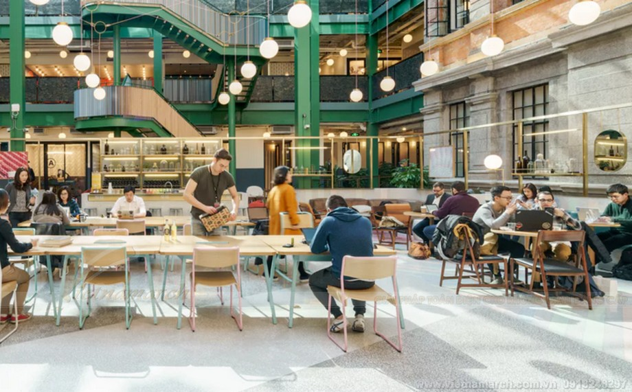 Coworking space Betahaus ở Barcelona, ​​Tây Ban Nha