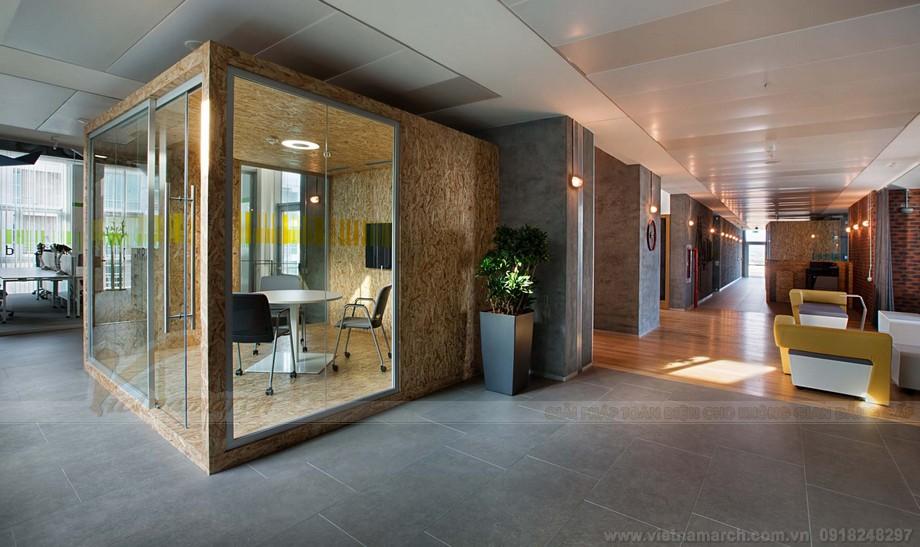 Thiết kế nội thất bên trong văn phòng làm việc chung cowroking space