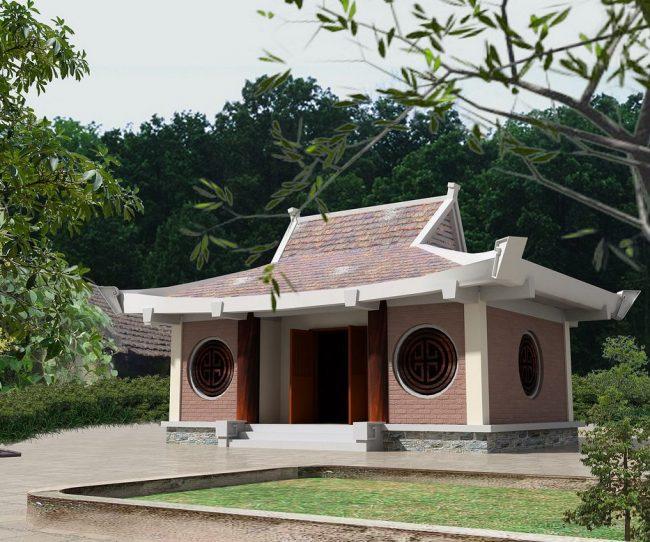 Điểm lại những vẻ đẹp của mẫu nhà thờ họ xây bằng gạch không trát