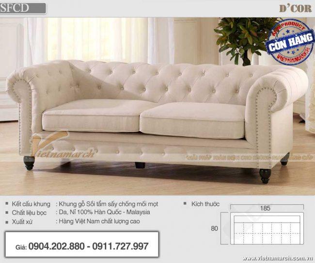 mẫu sofa tân cổ điển giá rẻ hà nội