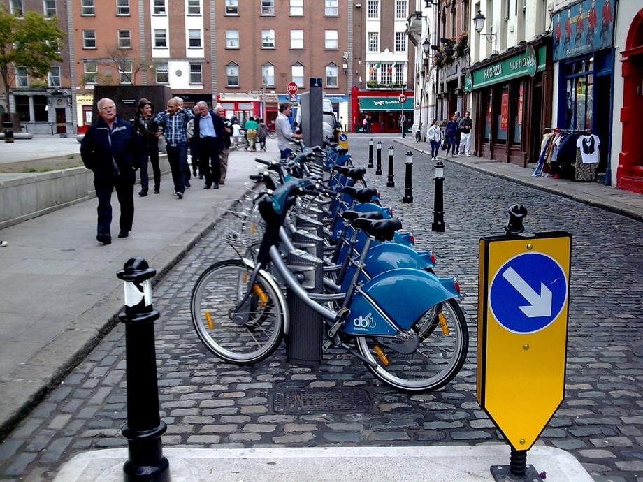 Bãi đỗ xe đạp thông minh