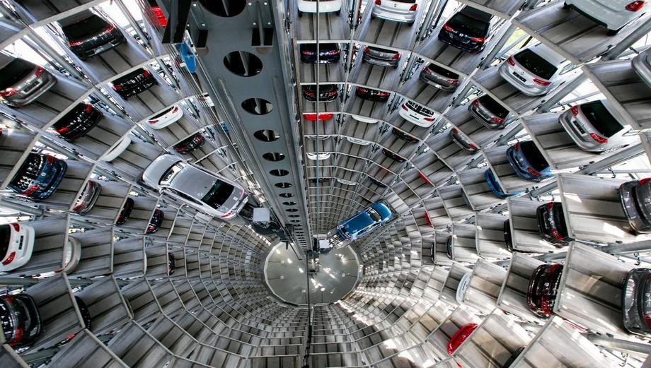 bãi đỗ xe thông minh 8 chỗ giúp tiết kiệm thời gian và không gian đậu xe