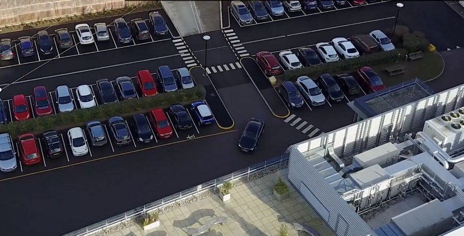 Quá trình hoạt động của hệ thống bãi đỗ xe thông minh tự động sử dụngGoldeneye