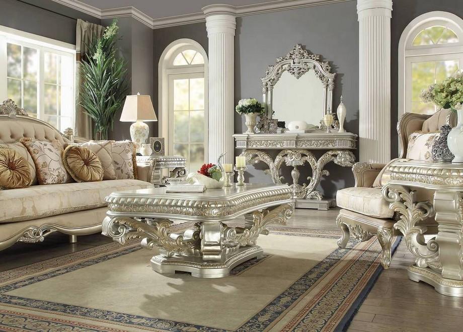 Bàn sofa gỗ cổ điển sẽ được làm từ những loại gỗ tự nhiên cao cấp
