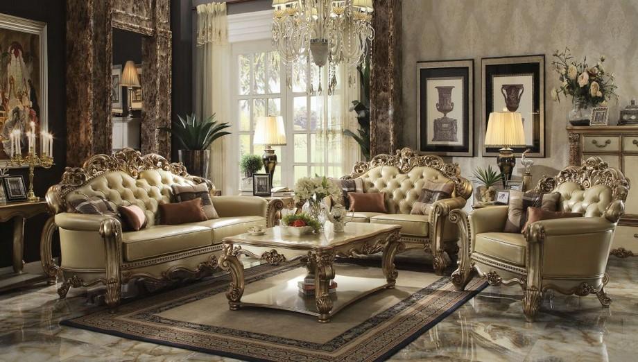 Bàn sofa gỗ cổ điển cao cấp chạm khắc bởi những thợ điêu khắc lành nghề với những đường nét cổ điển Châu Âu đẹp