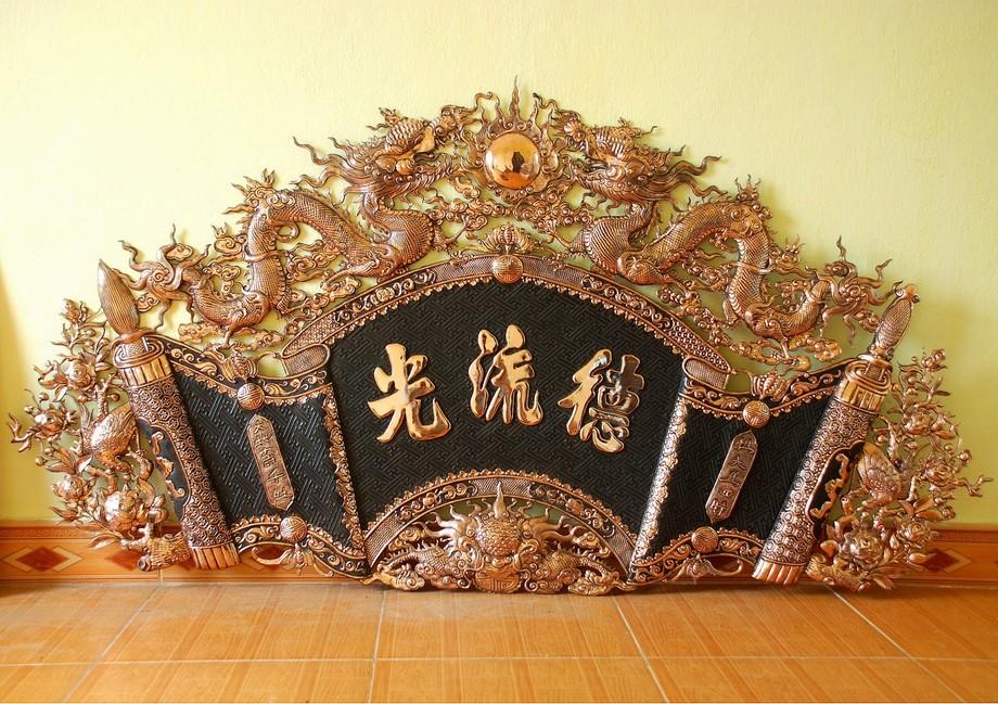 Ý nghĩa cuốn thư câu đối có chữ Đức Lưu Quang