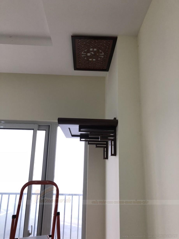 Mẫu bàn thờ hiện đại treo tường chung cư