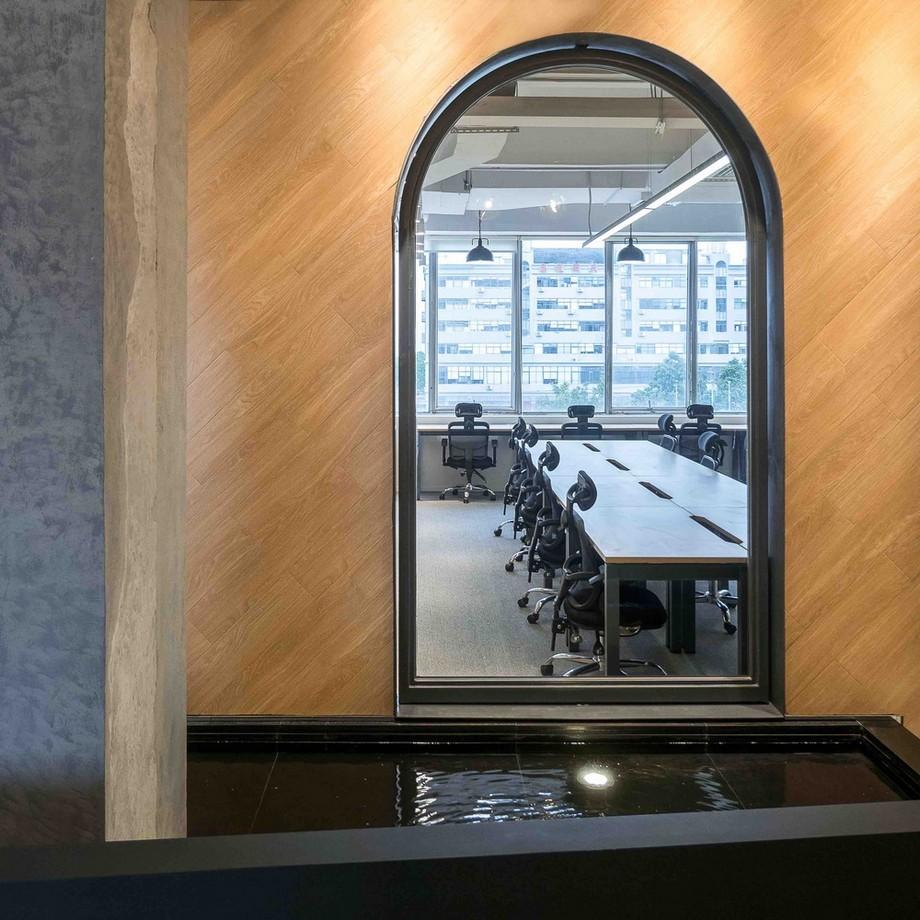 Thiết kế phòng làm việc trong không gian làm việc chung