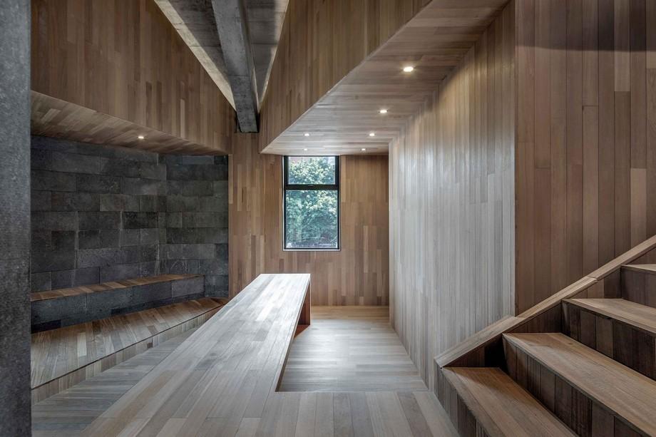 Thiết kế khu vực cầu thang coworking space