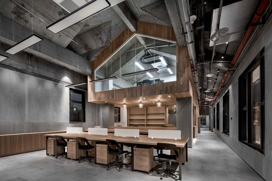 Thiết kế khu vực làm việc