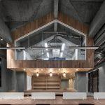 Dự án thiết kế không gian làm việc chung coworking space hiện đại với gỗ