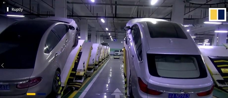 Hệ thống bãi xe này được thiết kế công phu và tính toán chuẩn theo khoa học để đảm bảo an toàn là tuyệt đối cho các tài xế.