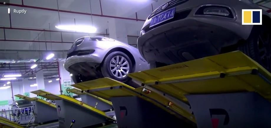 hệ thống bãi đỗ xe thông minh nhiều tầng vẫn hay hơn, đảm bảo yêu cầu an toàn cho đồ đạc mà số lượng để xe lại tăng gấp đôi.