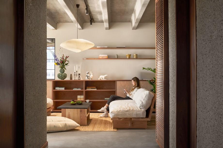 Thiết kế hệ thống đèn điện trong văn phòng chia sẻ