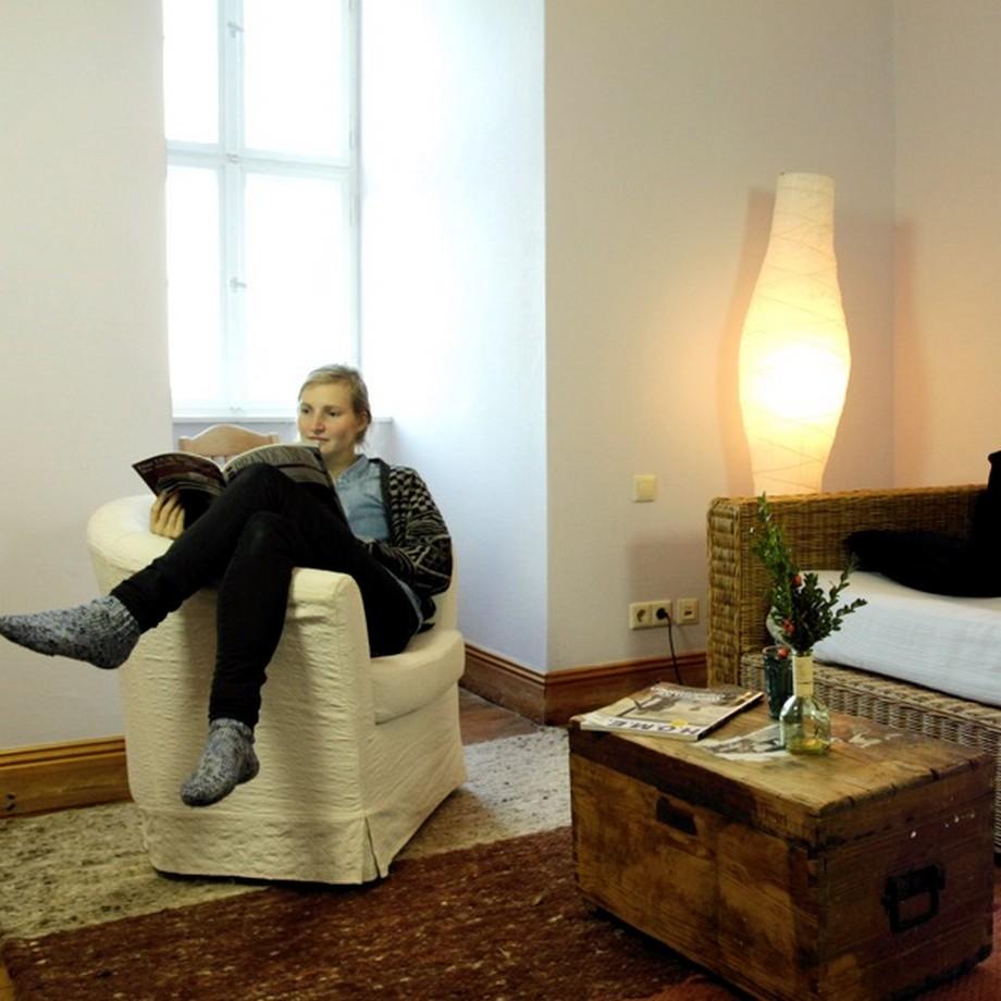 Một số phòng có khu vực sinh hoạt riêng để làm việc & thư giãn