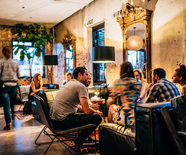 không gian làm việc chung coworking space xu hướng start up 2019