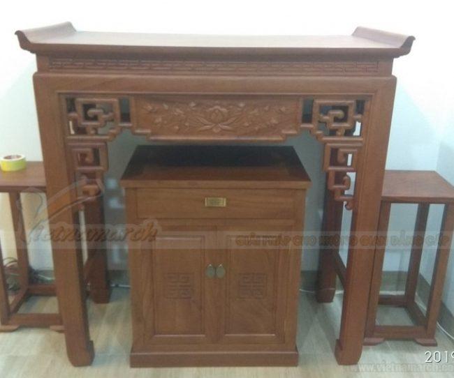 Lắp đặt bàn thờ đứng cho chung cư Padora Triều Khúc Hà Đông