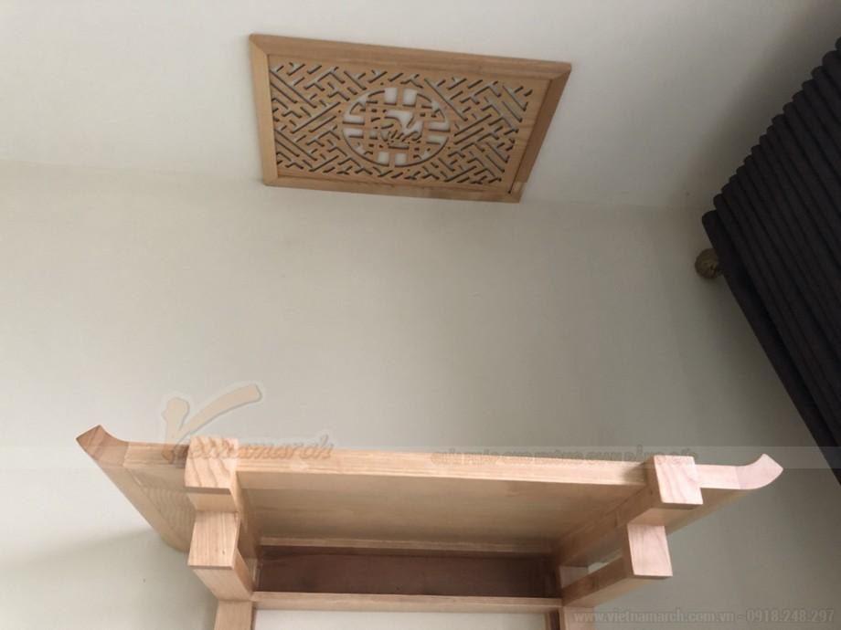 Mẫu bàn thờ treo tường BTT03