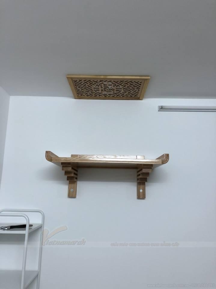 Đặc điểm mẫu bàn thờ treo tường BTT 5