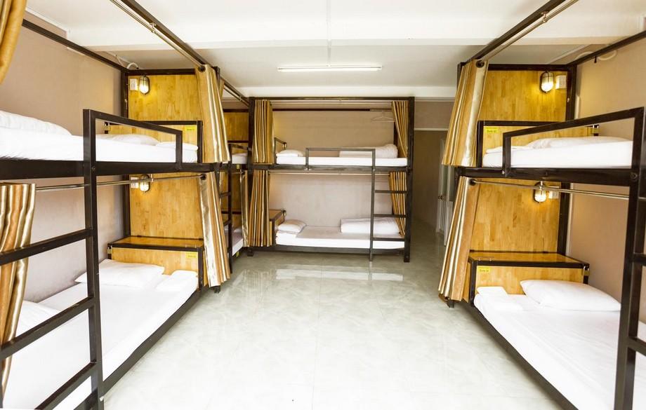 Hệ thống giường tầng phòng dorm