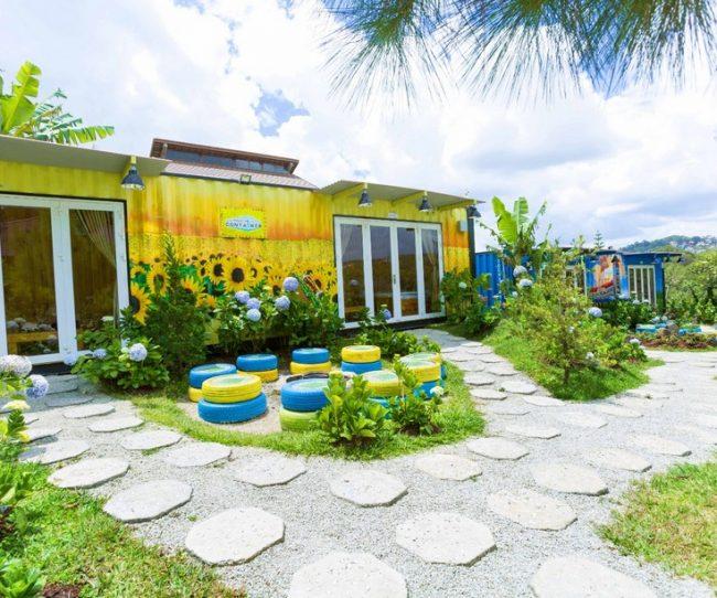 Nhà container Đà Lạt