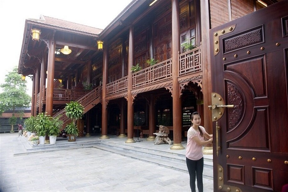 căn nhà sàn gỗ lim lớn nhất Việt Nam