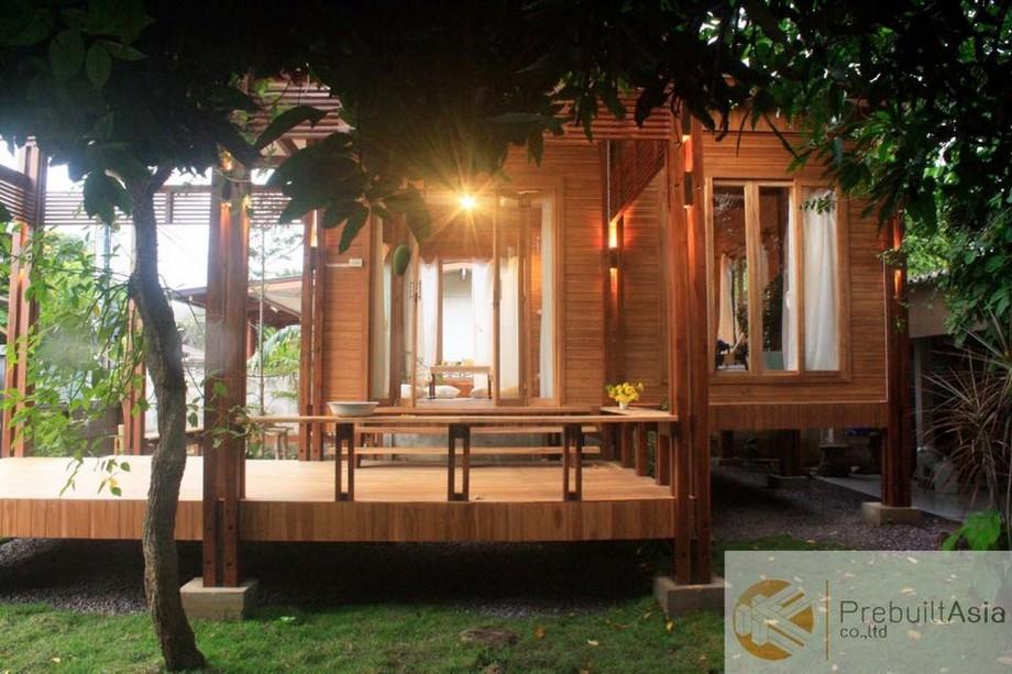 Căn nhà gỗ được bình chọn là một trong những căn nhà gỗ đẹp nhất Đông Nam Á