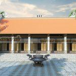 Những mẫu nhà thờ họ 5 gian giả gỗ kiến trúc cổ ấn tượng