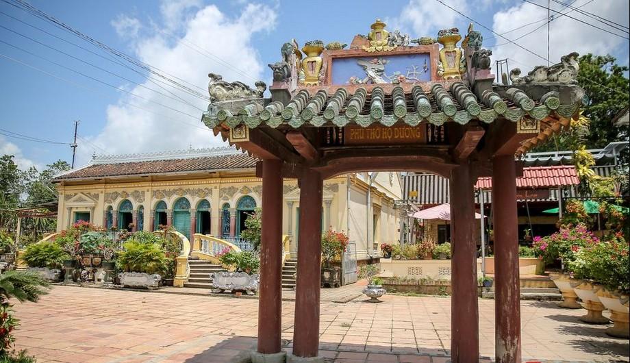 Khuôn viên nhà thờ họ Dương - Cần Thơ