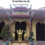 Những mẫu thiết kế nhà thờ họ Hà ở Việt Nam đẹp nhất