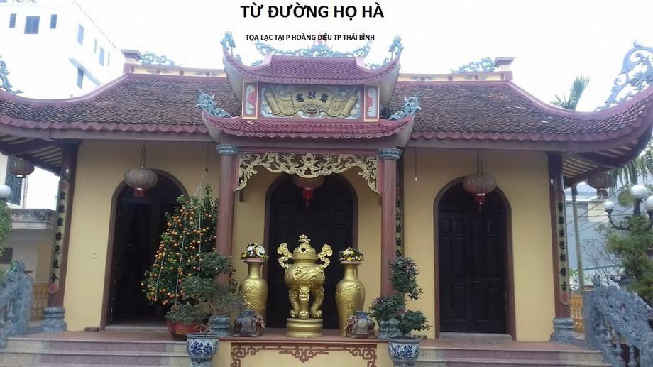 Nhà thờ họ Hà tại Thái Bình