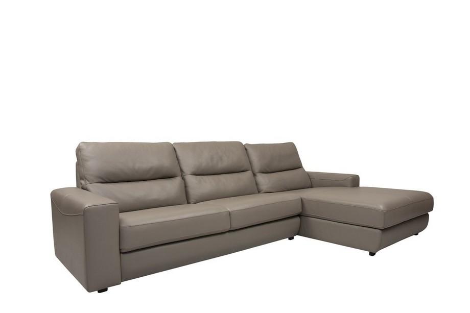 Sofa góc da nhập khẩu Nhật Bản sang trọng, hiện đại