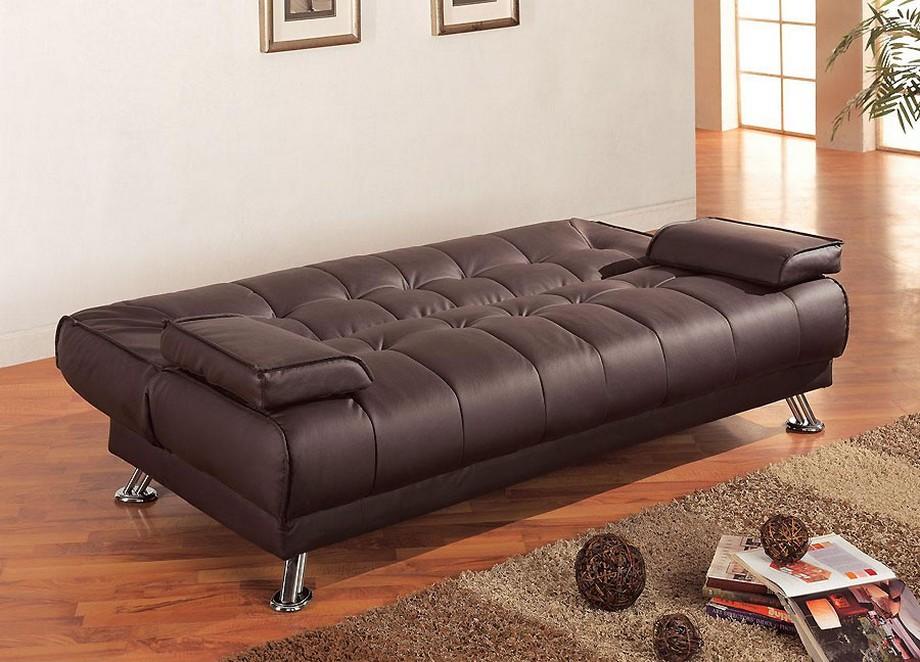 Mẫu sofa bed da nhập khẩu Nhật Bản sang trọng