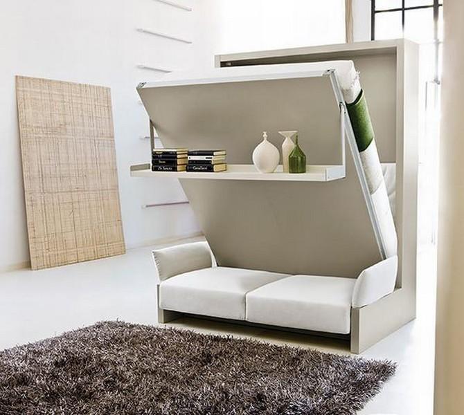 Những chiếc ghế sofa giường tích hợp thêm nhiều chức năng