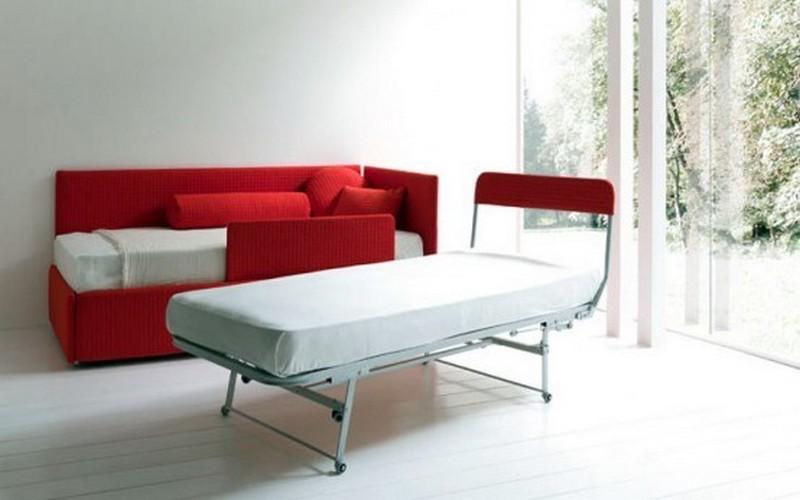 Bạn sẽ bất ngờ và ngạc nhiên khi kết cấu của chiếc giường sofa đa năng gồm có giường, sofa này