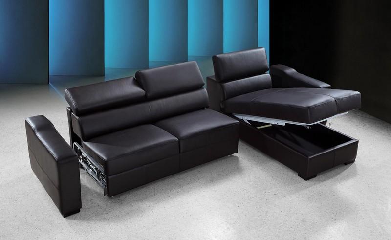 Sofa da giường nhập khẩu