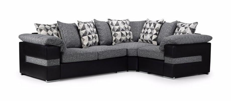 sofa bằng vải nỉ với màu sắc đa dạng sinh động thường có giá thành rẻ hơn