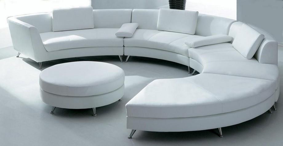 Hiện nay,sofagóc tròn đã được sử dụng nhiều hơn và có mặt trong một số không gian sống