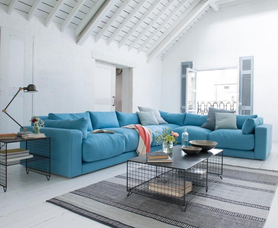 Một chiếc ghế sofa góc tròn là lựa chọn tuyệt vời cho tất cả những người sử dụng nó