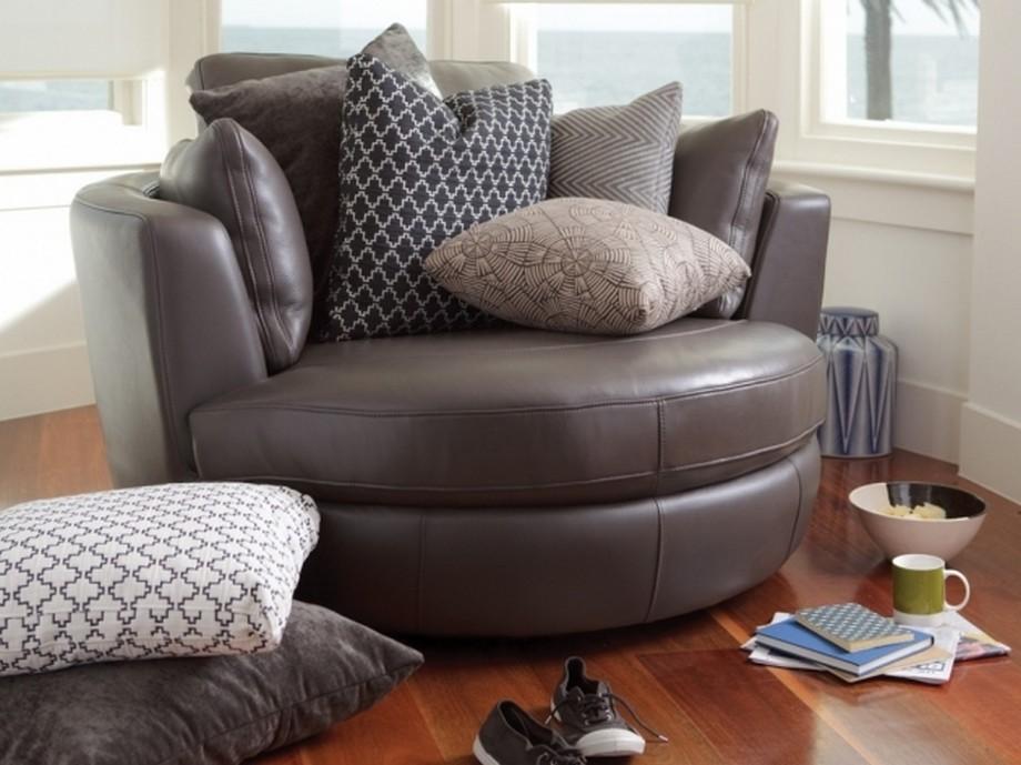 sofa góc tròn da sẽ mang đến cho bạn không gian sống sang trọng