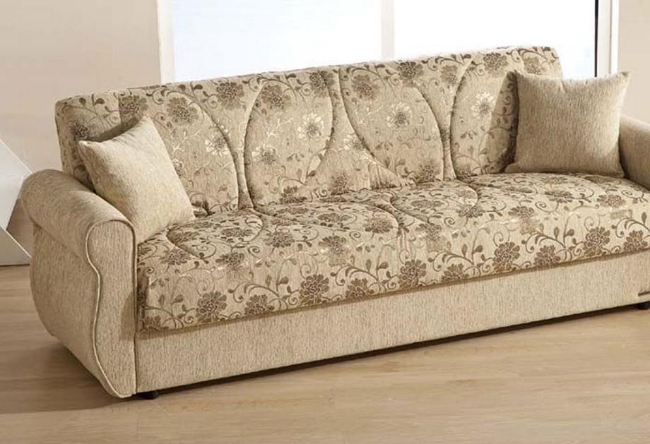 Mẫu vải gấm bọc sofa phong cách hiện đại. Hoa văn rất sáng và trang nhã tạo cảm giác êm ái thư thái