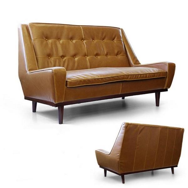 Sofa văng da bò được thiết kế với kích thước và tỷ lệ sao chokhông tốn diện tích nhưng vẫn đảm bảo được tiện nghi trong sử dụng, thêm không gian sinh hoạt cho cả gia đình