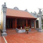 Hình ảnh ghi lại quy trình thi công thực tế nhà thờ họ chú Hùng Nghệ An