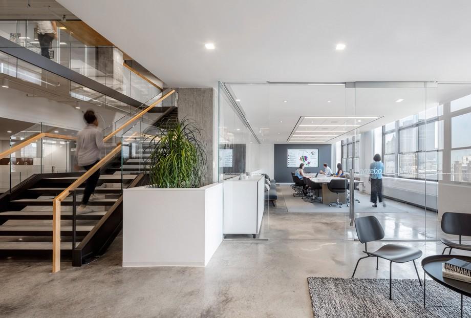 Thiết kế lược bớt các bức tường ngăn cách tạo không gian mở