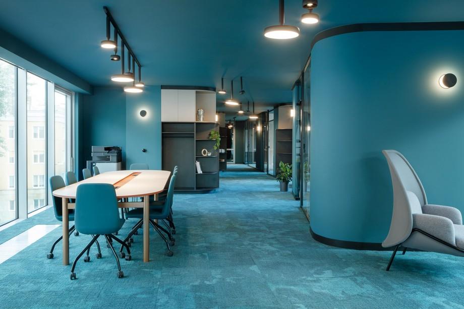 Thiết kế nội thất trong khôn gian làm việc chung