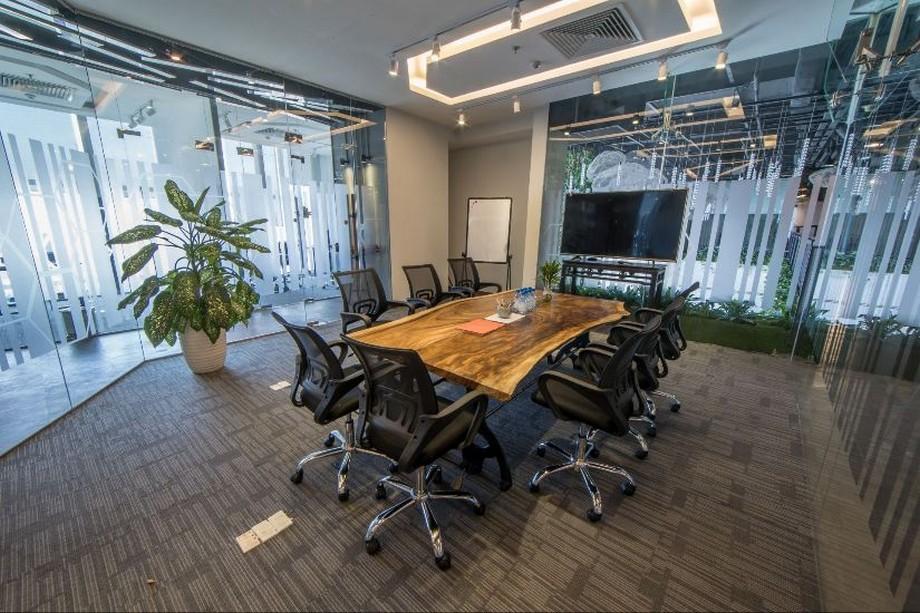 Không gian phòng họp riêng tư