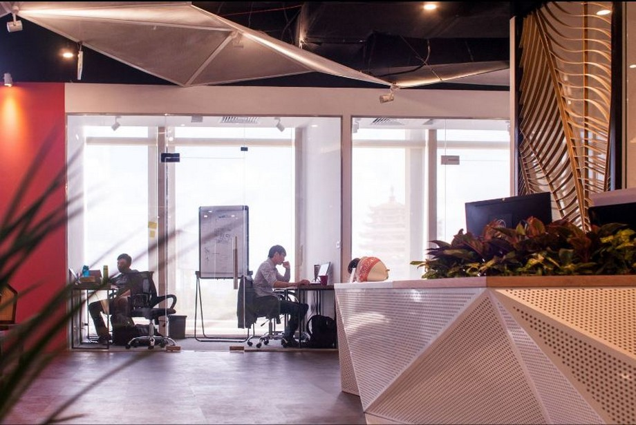 Không gian trong Toong coworking space quận 2